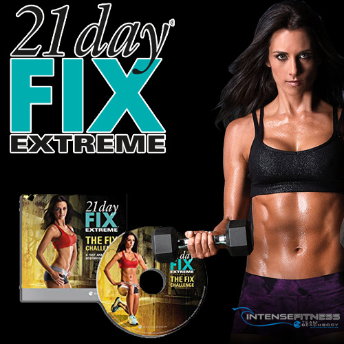 21 Day Fix EXTREME The Fix Challenge DVD