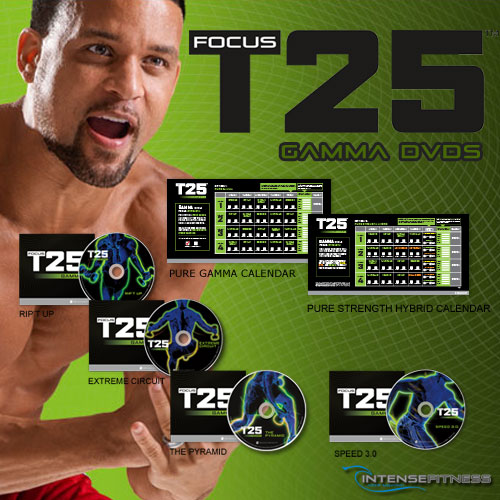 Focus T25 Gamma DVDs Only