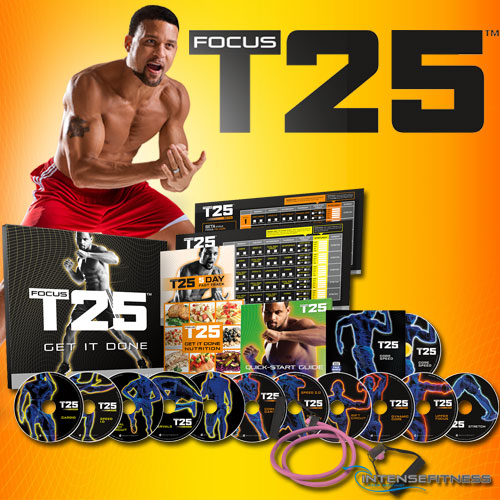 Fitness Beach Dvd: Focus T25 With Shaun T From Beachbody
