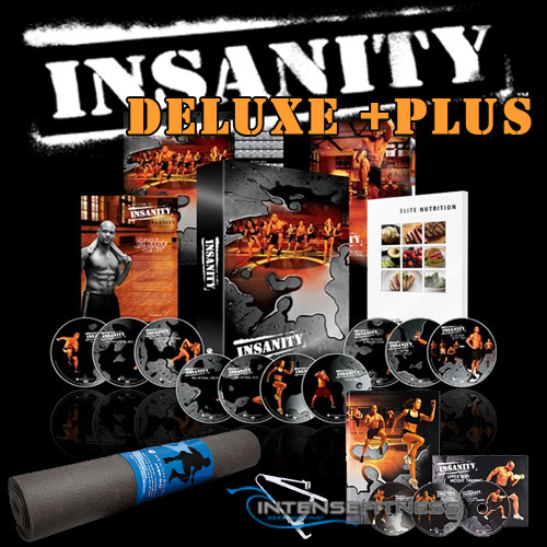 INSANITY Deluxe with Mat and Bonus Workout