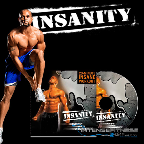 INSANITY Fast and Furious DVD