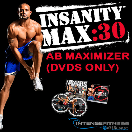 INSANITY MAX:30 Ab Maximizer DVDs Only