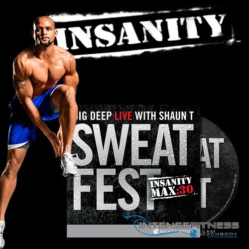 INSANITY Sweat Fest DVD