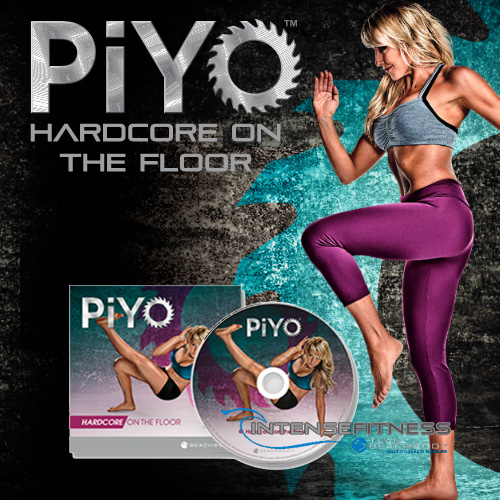 PiYo Hard Core on the Floor DVD