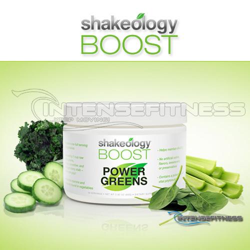 Shakeology Boost: Power Greens