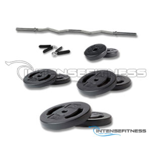 EZ Curl Barbell Weight Set